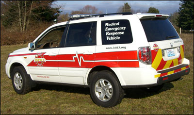 Medical Emergency Response Vehicle