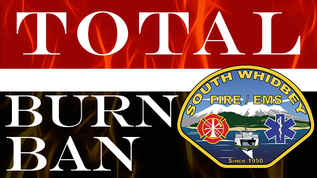 Total Burn Ban as of August 18, 2016