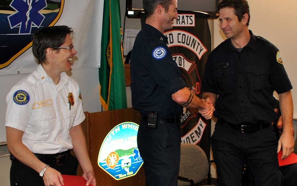 Fire Departments Welcome New Firefighters