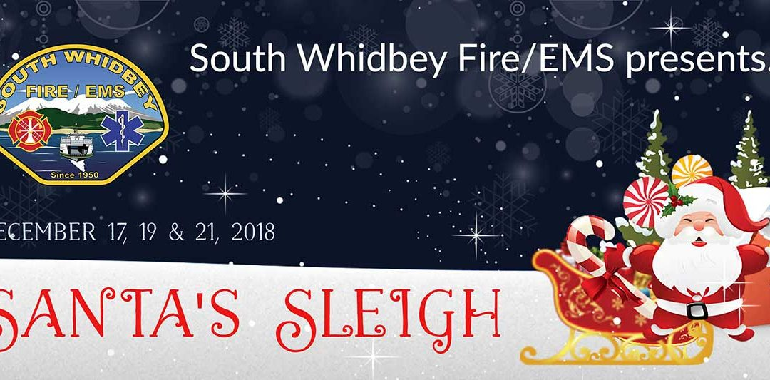 Fire Department's Santa's Sleigh Tradition Continues