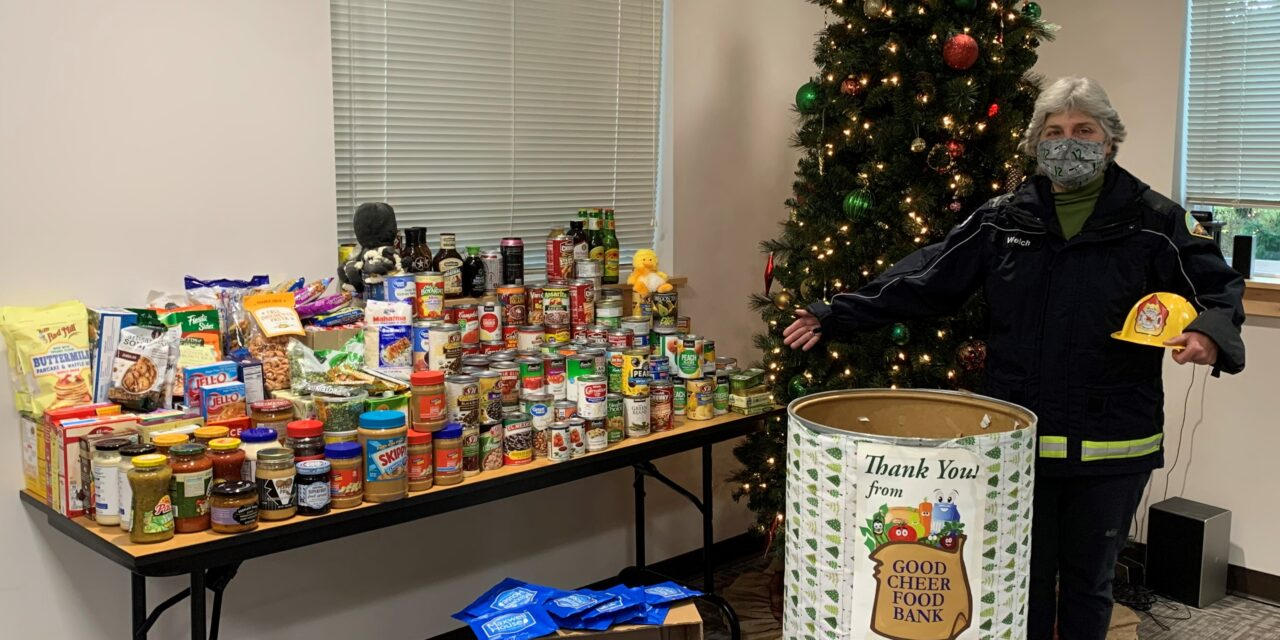 South Whidbey Fire/EMS helps boost Good Cheer