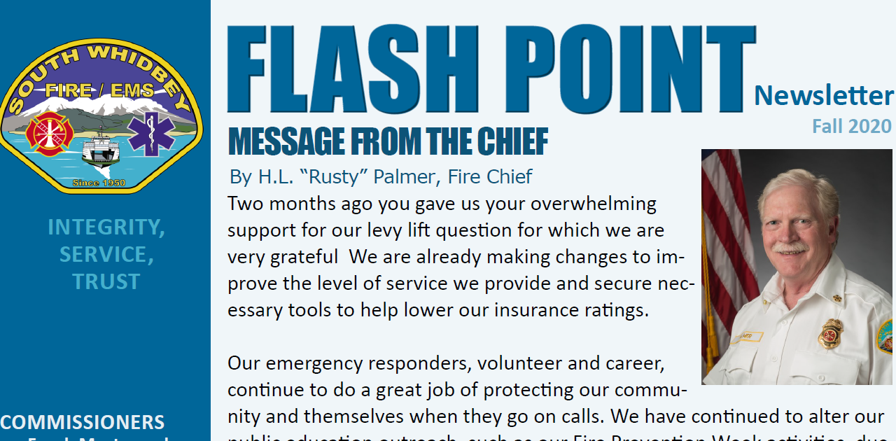 FLASHPOINT:  Fall 2020 Newsletter Now Available